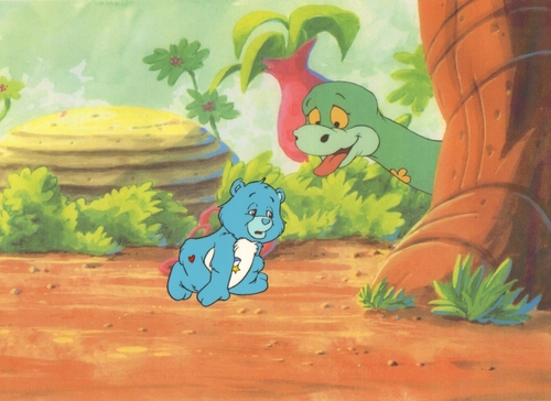Care Bears wallpaper called Care Bears Animation Production Cel