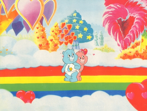 Care Bears wallpaper titled Care Bears Animation Production Cel