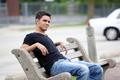 Carlos Relaxing