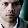 Castiel photo containing a business suit titled Castiel || Season 4
