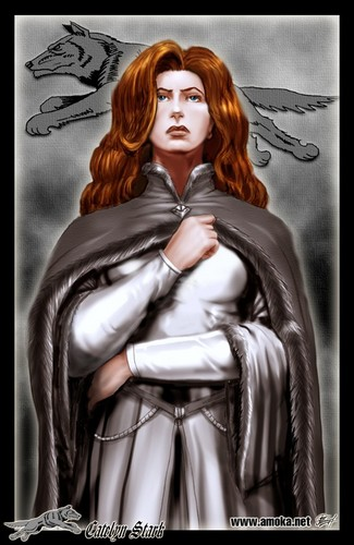 Catelyn Stark by Amoka - catelyn-tully-stark Fan Art