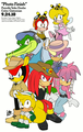 Chaotix: Photo Finish Colored