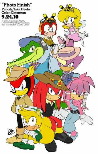 Chaotix: foto Finished Colored