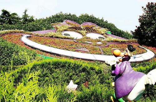 Cheshire Cat in Disneyland Paris