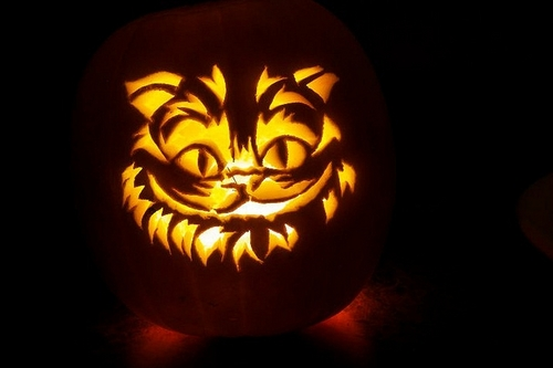 Cheshire Cat abóbora