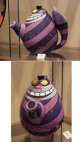 The Cheshire Cat wallpaper called Cheshire Cat teapot