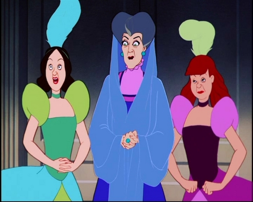 Drizella , Lady Tremaine & আনাস্তেসিয়াa