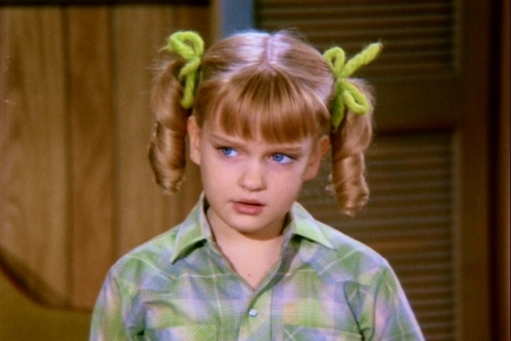 cindy brady giving the finger