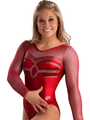 Classy Sweetheart Comp Leotard - shawn-johnson photo