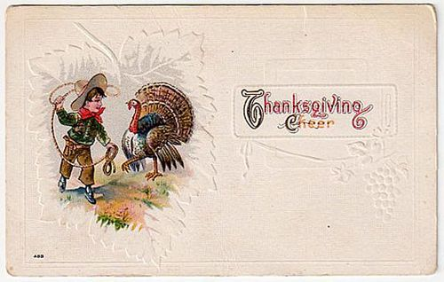 Cowboys and Cowgirls wallpaper called Cowboy Thanksgiving (1900)