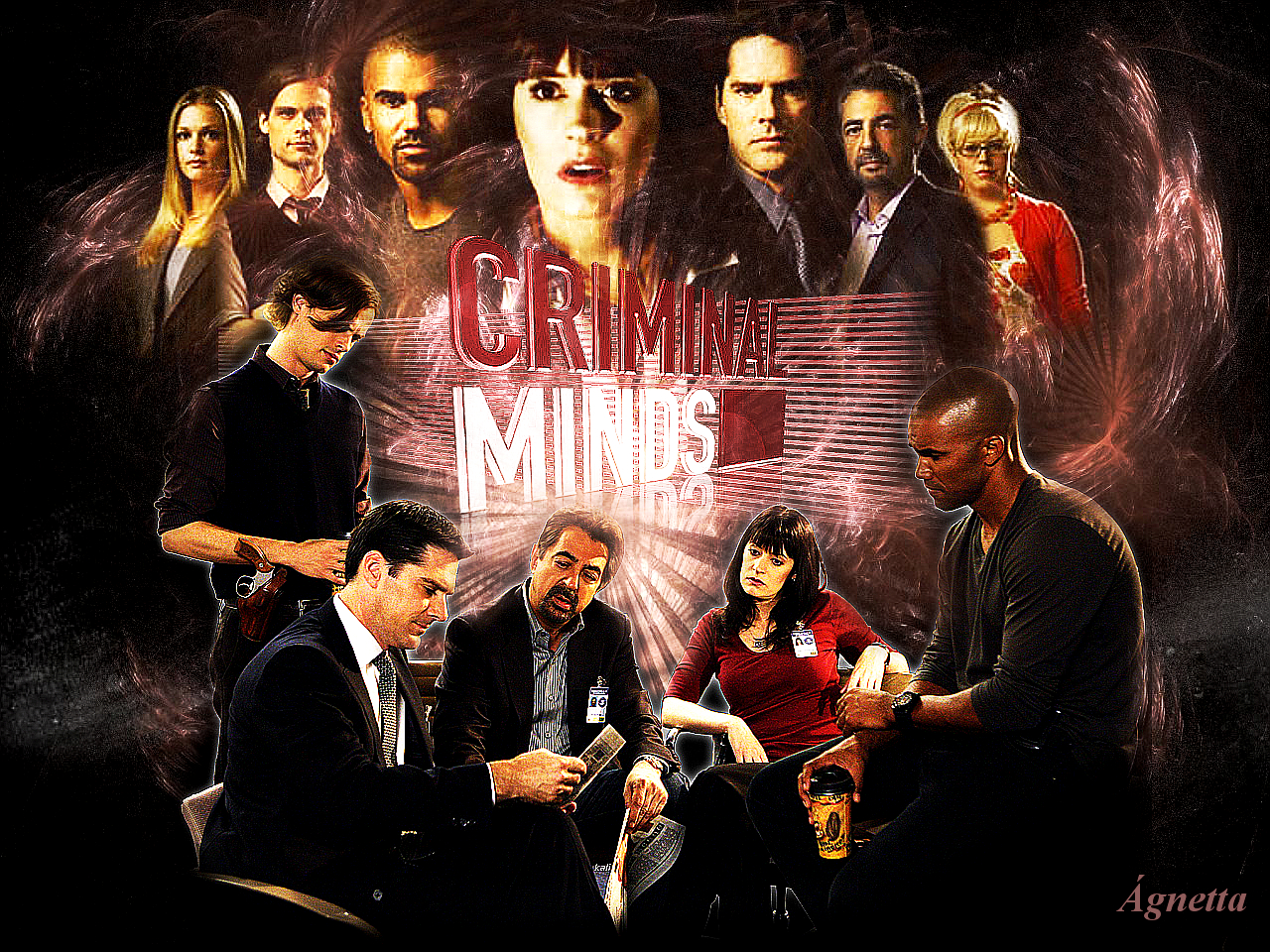 Criminal Minds Criminal Minds Wallpaper 24443652 Fanpop