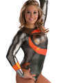 Curved Ribbon Competitive Leotard - shawn-johnson photo