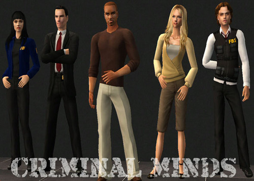 DOLLS OF CRIMINAL MIND'S CAST