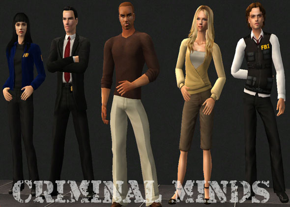 Куклы OF CRIMINAL MIND'S CAST