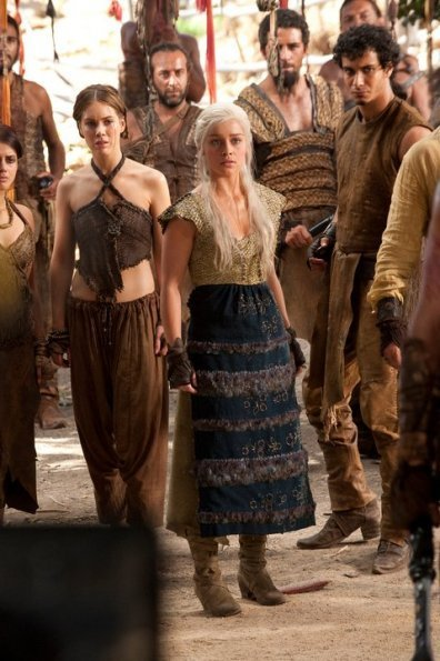 Daenerys Targaryen and Dothraki