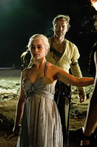 Daenerys Targaryen images Daenerys Targaryen and Jorah Mormont wallpaper and background photos