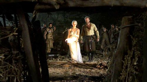 Daenerys Targaryen wallpaper called Daenerys Targaryen and Jorah Mormont