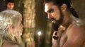 Daenerys Targaryen and Khal Drogo