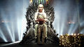 Daenerys Targaryen on Iron Throne - daenerys-targaryen photo