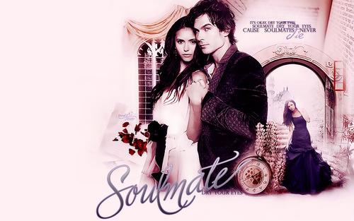 Damon & Elena 바탕화면
