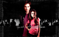 Damon & Elena Wallpaper