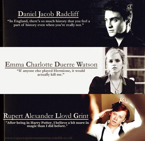 Dan,Emma,Rupert