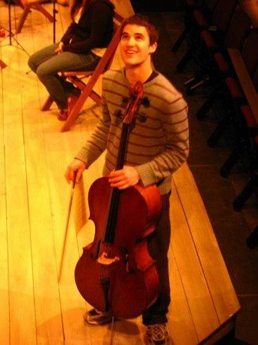 Darren plays cello!