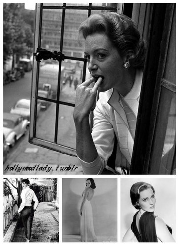 Deborah Kerr, Audrey Hepburn, Paulette Goddard and Julie Andrews
