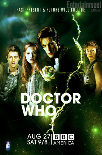 Doctor Who midseason return poster