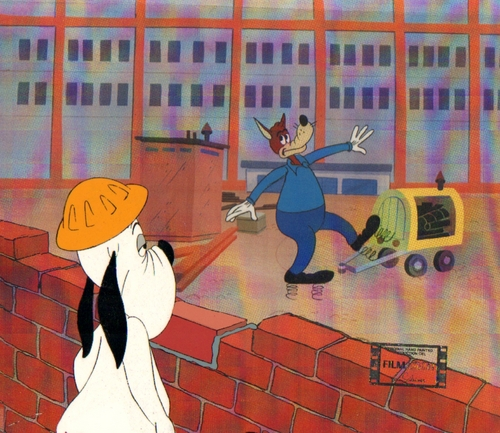 Droopy animatie Production Cel
