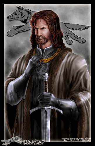 Eddard Stark by Amoka - lord-eddard-ned-stark Fan Art