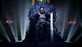 Eddard Stark on Iron Throne