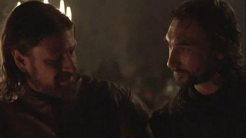 Eddard and Benjen Stark