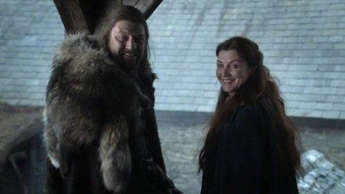 Eddard and Catelyn Stark