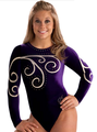 Elegant Swirl Comp Leotard - shawn-johnson photo