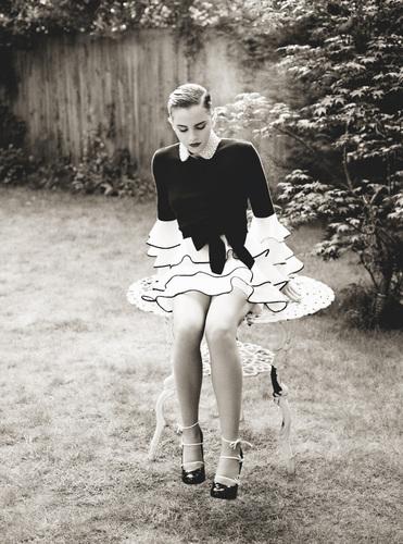 Emma Watson in I-D Magazine