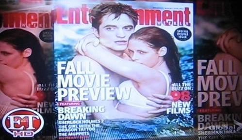 Entertainment Weekly – New Bella & Edward Breaking Dawn Still