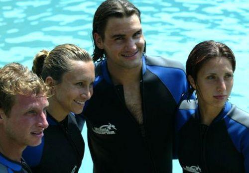 Federer hot look !