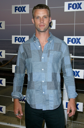 Jesse Spencer wallpaper possibly with a sign and a workwear titled Fox All Star Party 2011 [August 5, 2011]