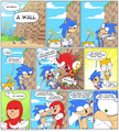Funny sonic comic: Nipples the enchilada, انچالادا