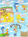 Funny sonic comics- Arms the vos, fox