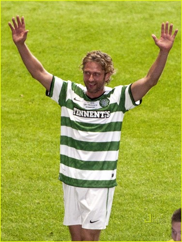 Gerard Butler: Celtic Legends Match for Charity! - gerard-butler Photo