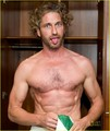 Gerard Butler: Shirtless Locker Room Stud!