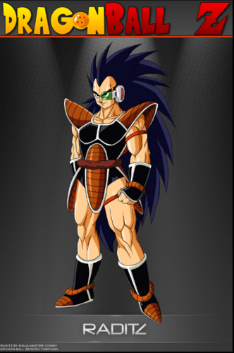 Goku's brother Raditz