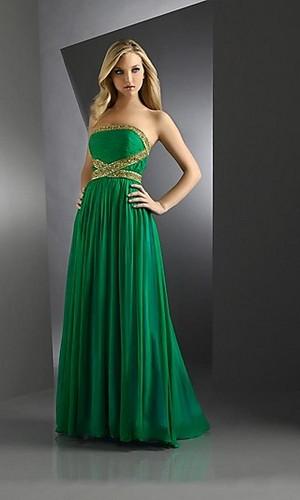 Green गाउन