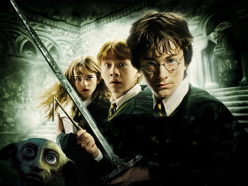 Harry Potter kertas dinding