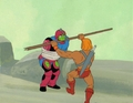 He-Man Masters of the Universe Production Cel