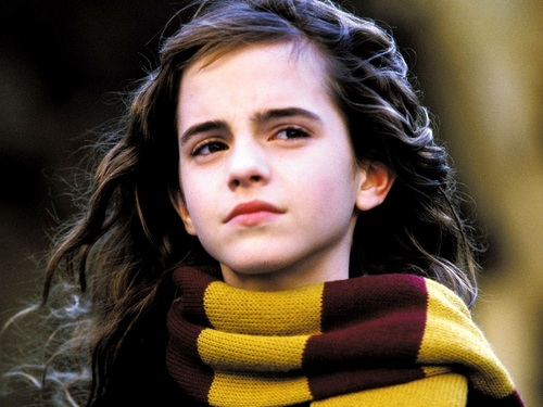 Hermione Granger Wallpaper Probably Containing A Stole Cowl And Portrait Titled