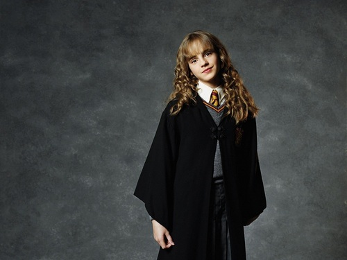 Hermione Granger Wallpaper Probably Containing A Cloak And Capote Titled