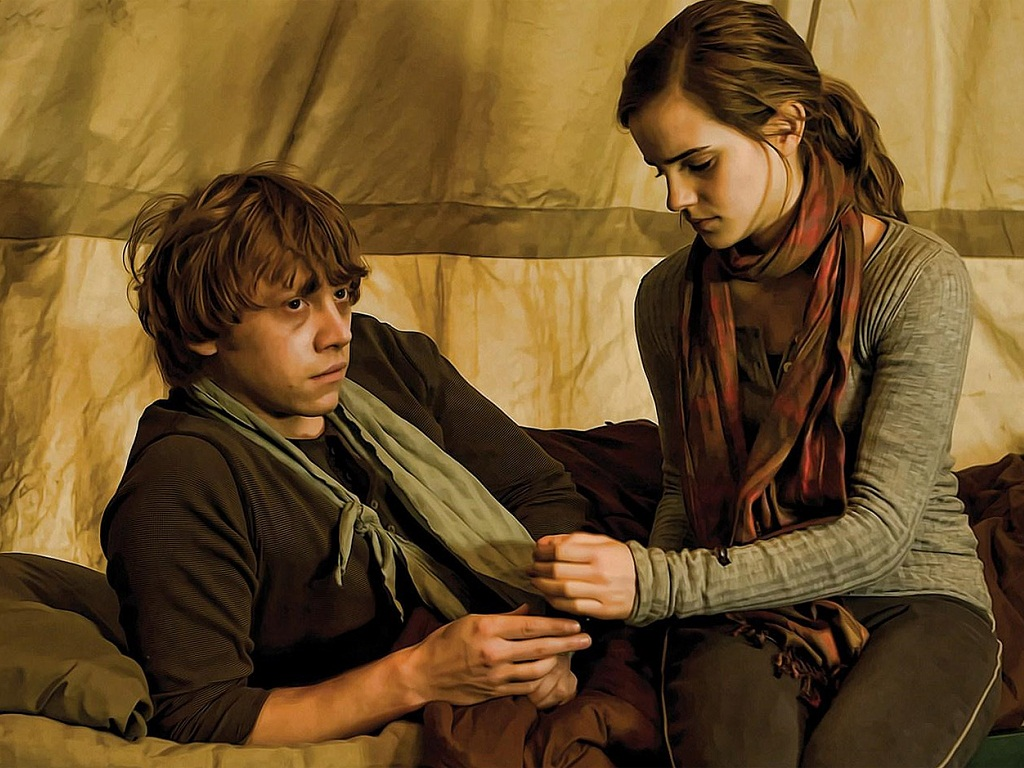 ron weasley hermione granger essay Why harry picked ginny, rather than hermione hermione granger has given him perhaps this source of pleasure explains why she has chosen ron weasley as her.